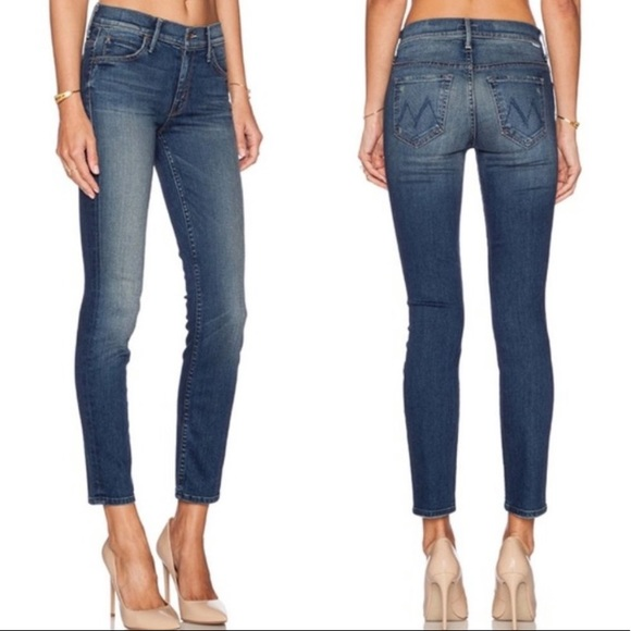 Mother The Muse Ankle Jeans Bushwhacked